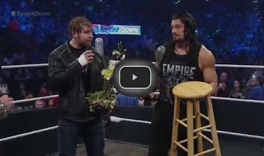 """The Highlight Reel"" welcomes special guests Roman Reigns and Dean Ambrose  WWE SmackDown - Wrestling New Videos"