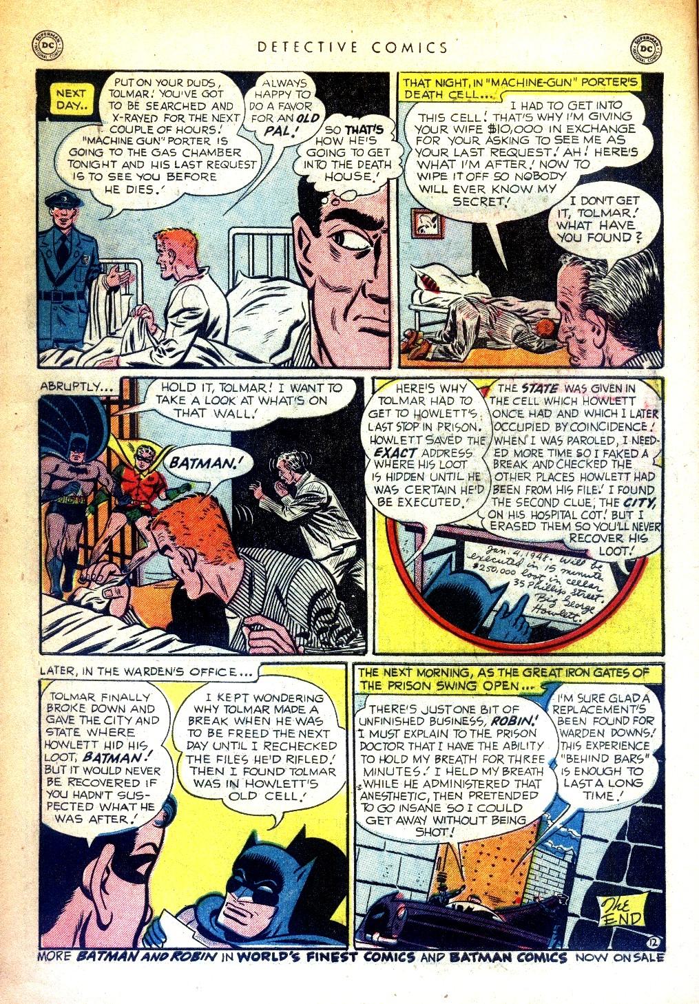 Read online Detective Comics (1937) comic -  Issue #169 - 14
