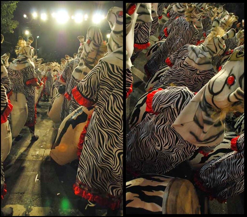 Desfile de Llamadas.Tronar de Tambores. Montevideo. 2011.