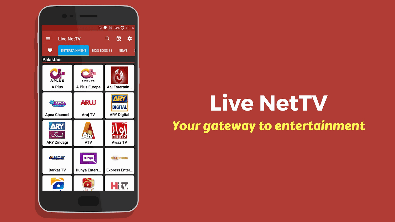 Watch Paid 800+ live TV Channels For Free in Android Phone | Live NetTv