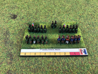 French cavalry in 6mm by Baccus