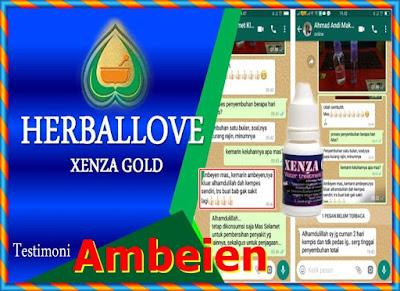 Testimoni Xenza Gold Untuk Ambeien