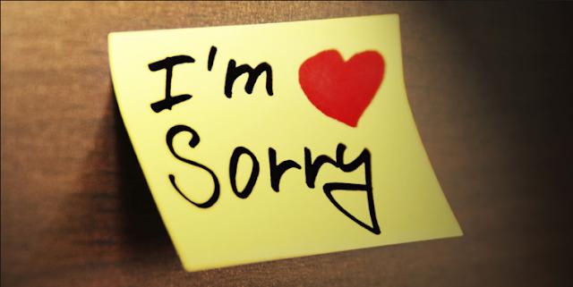 Maaf sama dengan sorry