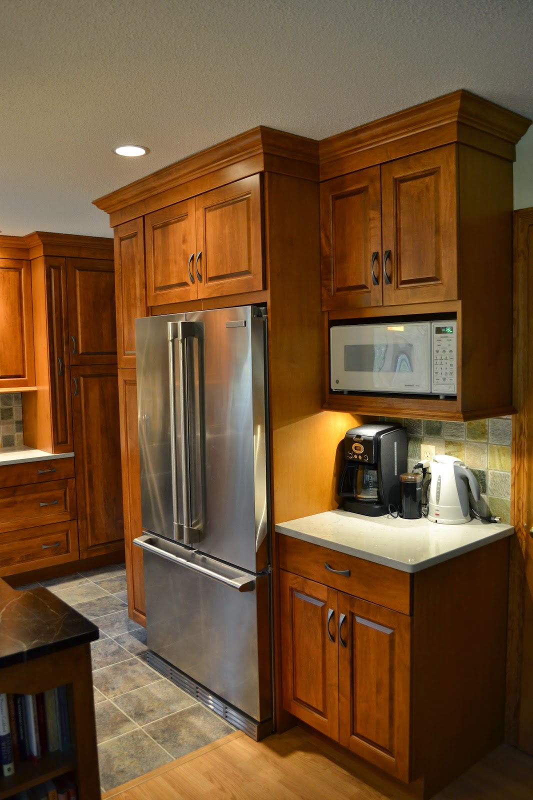Kitchen Cabinets Around Refrigerator Kitchen And Bathroom Remodeling Tips You Will Love