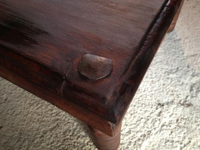 mes r novations de meubles en bois r novation d 39 une table. Black Bedroom Furniture Sets. Home Design Ideas