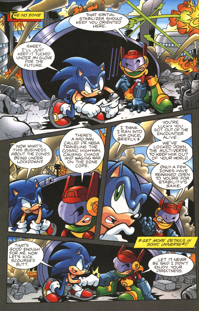 Read online Sonic The Hedgehog comic -  Issue #197 - 18