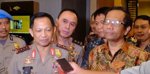 Mahfud MD Anggap Skandal Buku Merah <i>IndonesiaLeaks</i> Hoax
