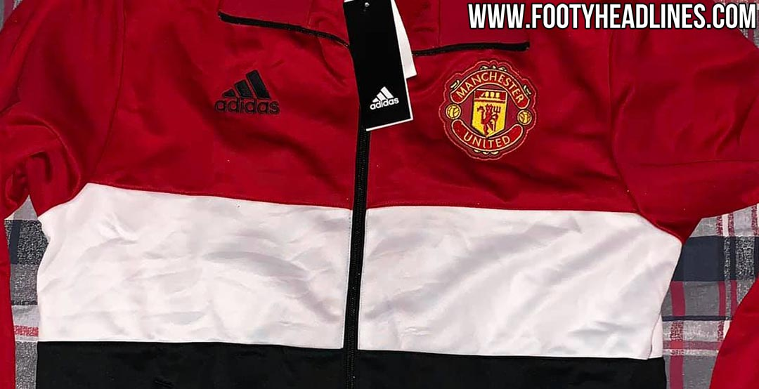 6d766bb0ba4 Man Utd 19-20 Home Kit To Be Purely Classic  Adidas Manchester United 2019- 20 Training Jackets Leaked