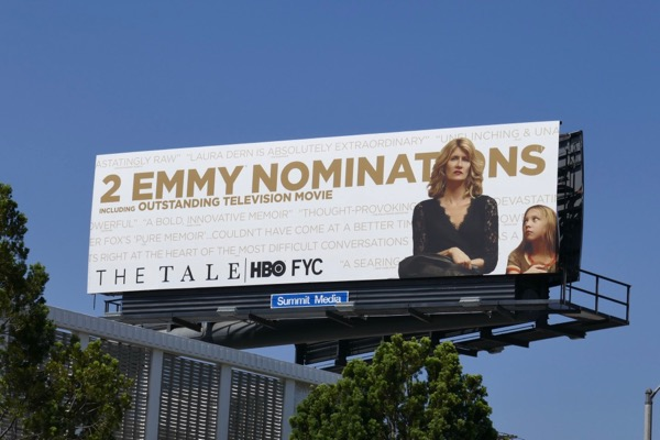 Tale HBO Emmy nominee billboard