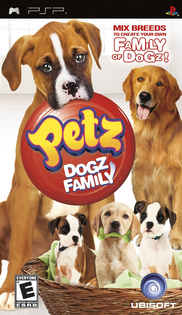 Petz - Dogz Family - PSP - ISO Download