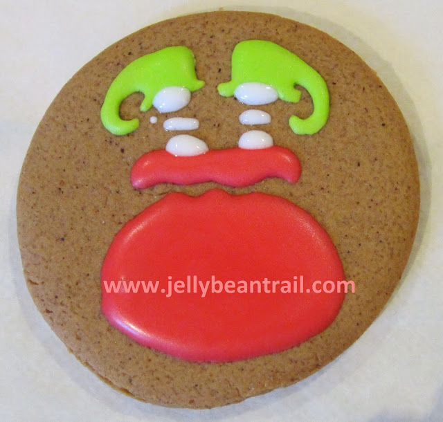 ELF in a Santa Sack gingerbread cookies