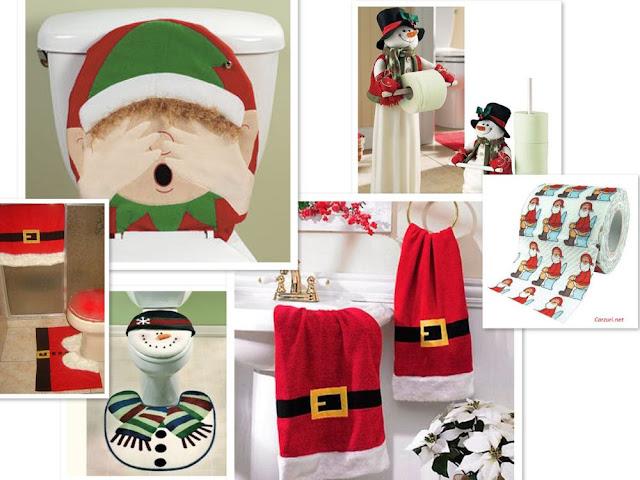 Resultado de imagem para decoração de natal para o banheiro