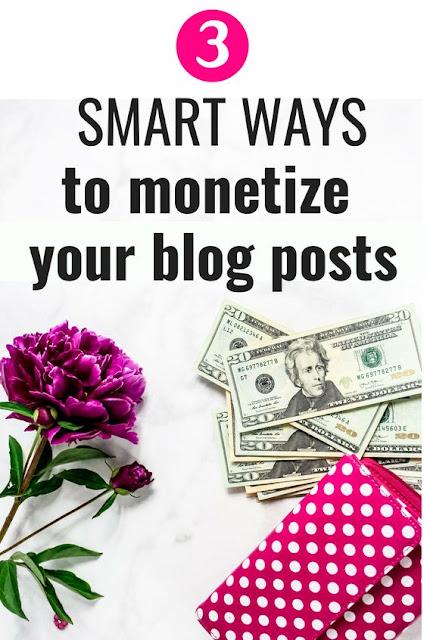 Blogging tips. Monetize your blog posts.
