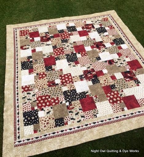 Night Owl Quilting & Dye Works: Oh Canada Quarter Sections : quilt fabrics canada - Adamdwight.com