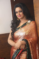 Udaya Bhanu lookssizzling in a Saree Choli at Gautam Nanda music launchi ~ Exclusive Celebrities Galleries 119.JPG