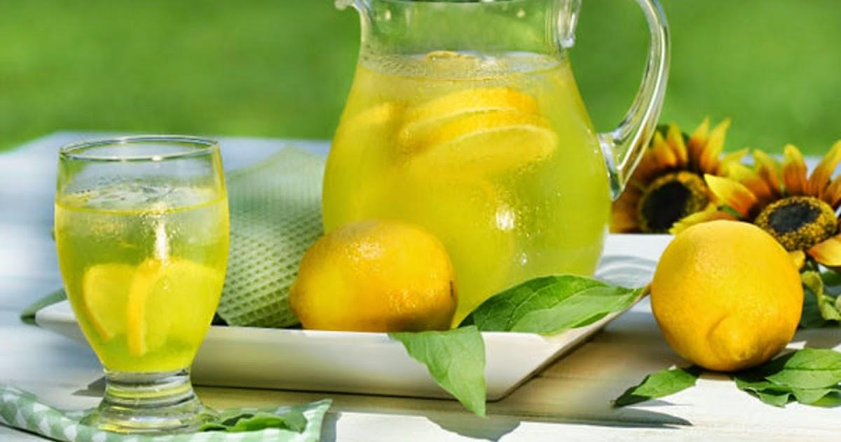 la sant et la nature menu r gime limonade citron une perdre de poids rapide et une. Black Bedroom Furniture Sets. Home Design Ideas