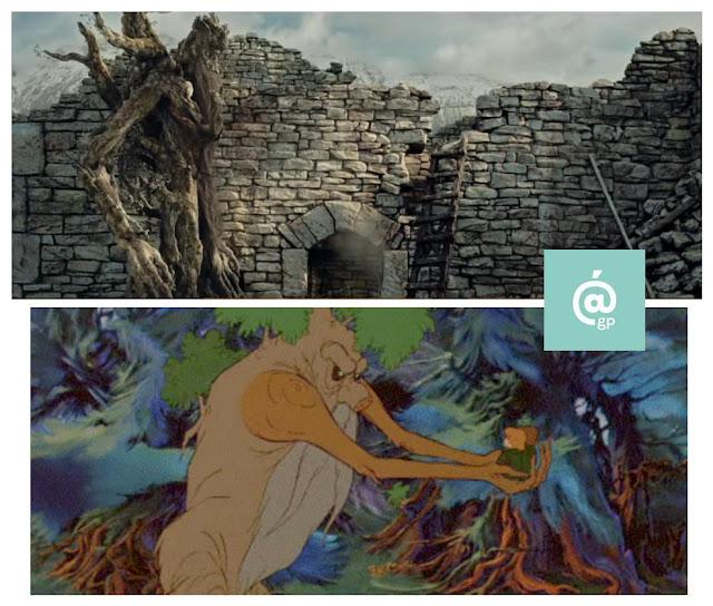 Barbol - Fangorn - El Señor de los Anillos: Peter Jackson Vs Ralph Bakshi - JRRTolkien - ÁlvaroGP - el fancine - el troblogdita