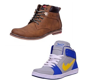 Min 63% Off on West Code Men's Footwear starts from Rs.999 Only @ Amazon