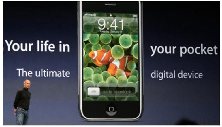 newgersy/ Apple's iPhone turns 10: Here's the way the gadget affected business, work