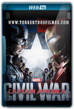 Capitão América 3 Guerra Civil (2016) Torrent – WEBRip 1080p Legendado / Legendas Fixa