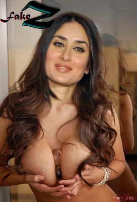 Nude Kareena Kapoor boob press 4