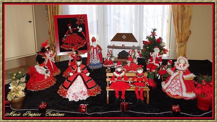 scène de Noël