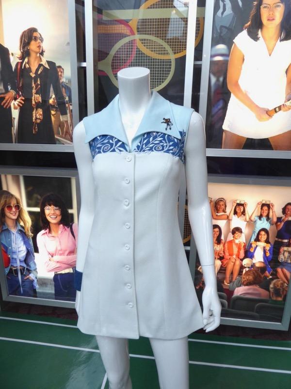Battle of Sexes Billie Jean King film costume