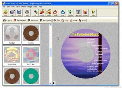 Acoustica CD DVD Label Maker Free Download