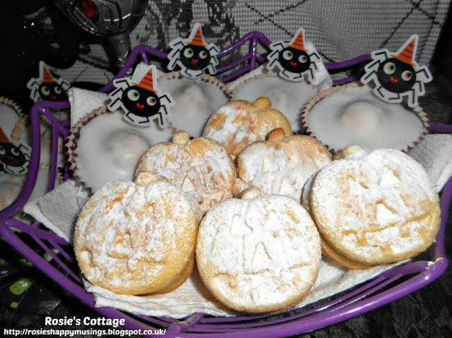 Halloween Pumpkin Sponge Cakes