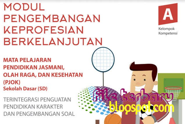 Modul SIM PKB PJOK Guru SD Lengkap Semua Kompetensi