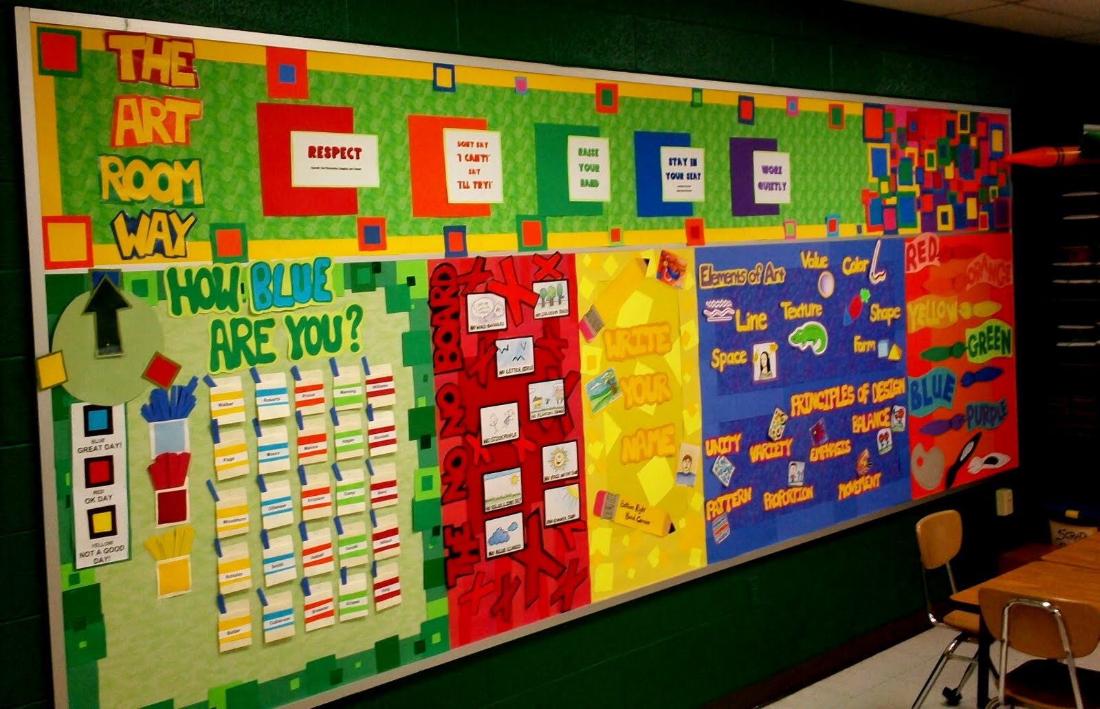 Art With Mr E Art Room Bulletin Boards  Displays 2011  Part 2
