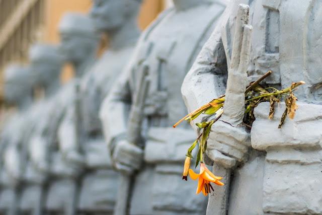 Monumento en el Cementerio de Santa Catalina