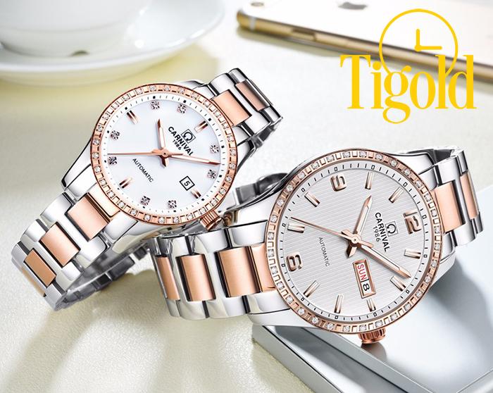 đồng hồ đôi Carnival chính hãng
