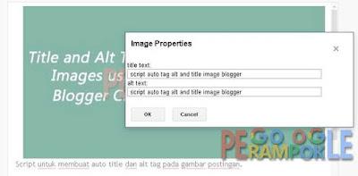 Membuat gambar Anda dapat ditelusuri dan dikenali Google