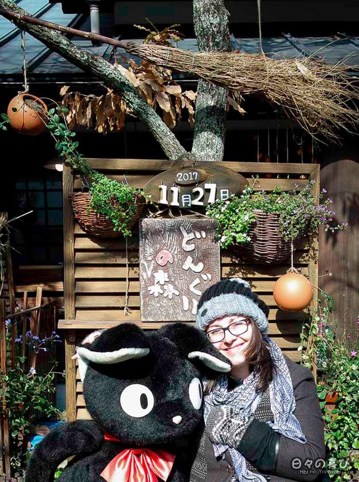 Portrait Céci, boutique Ghibli de Yufuin, Oita