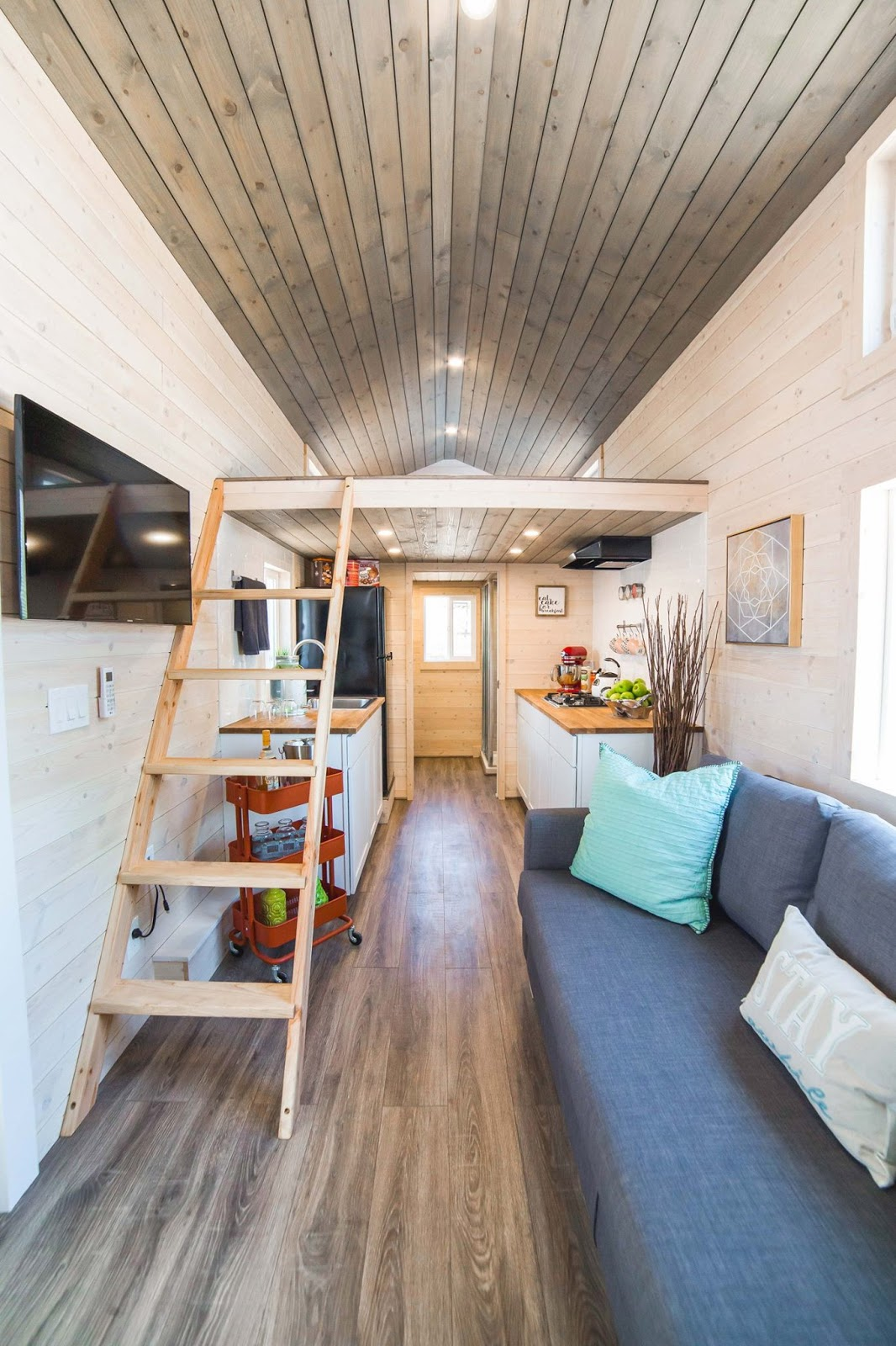 Tiny House Town The Bunkhouse By Uncharted Tiny Homes