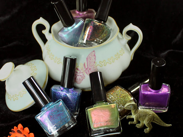 Femme Fatale Cosmetics August Presale - The Mad Tea-Party Collection Swatches & Review