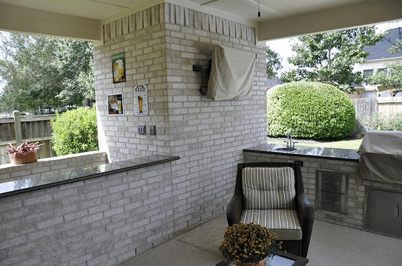Custom Outdoor Patio Construction DFW 20