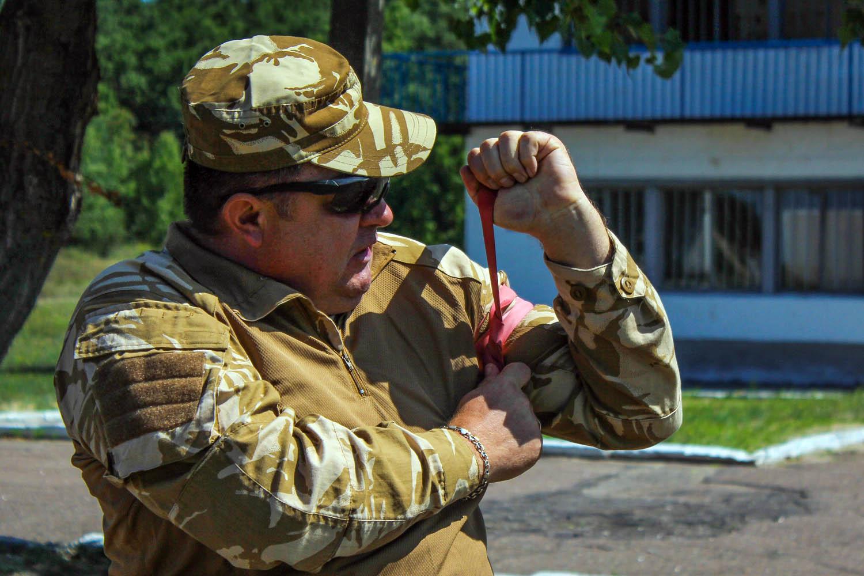 118-а окрема бригада ТрО навчається на Черкащині