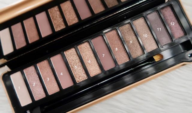 Ever bilena uncover eyeshadow palette shades