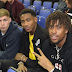 See pics:Chelsea and Arsenal football stars storm the O2 Arena in expensive designer wears to watch a basketball clash