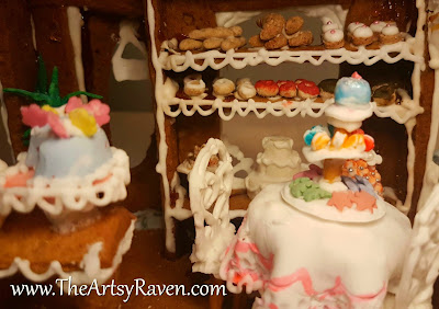 Gingerbread Bakery Dollhouse by Artsy Raven