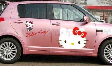 mobil hello kitty