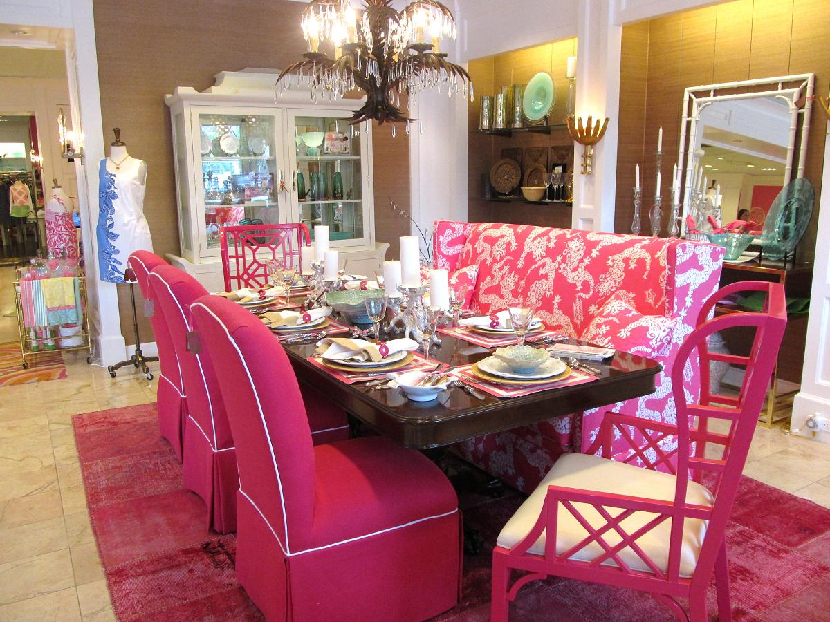 Lilly Pulitzer Chair Elegant Covers & Event Decor Orland Park Il Maryland Pink And Green Lifestyle At Palm