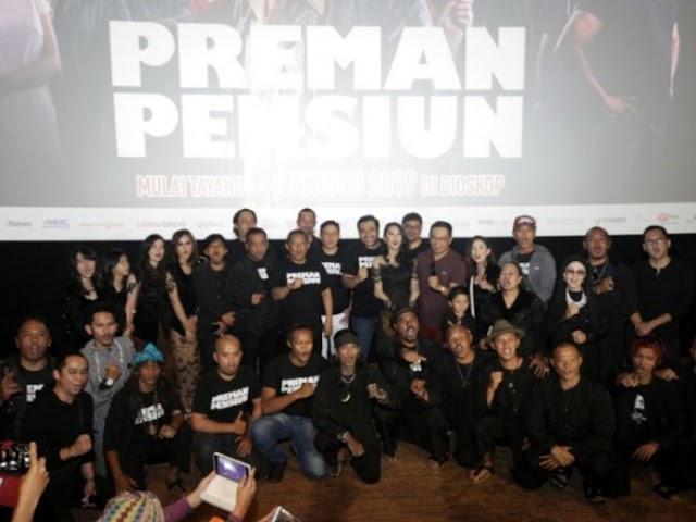 Gala Premiere Film Preman Pensiun Digelar di di XXI Cihampelas Walk