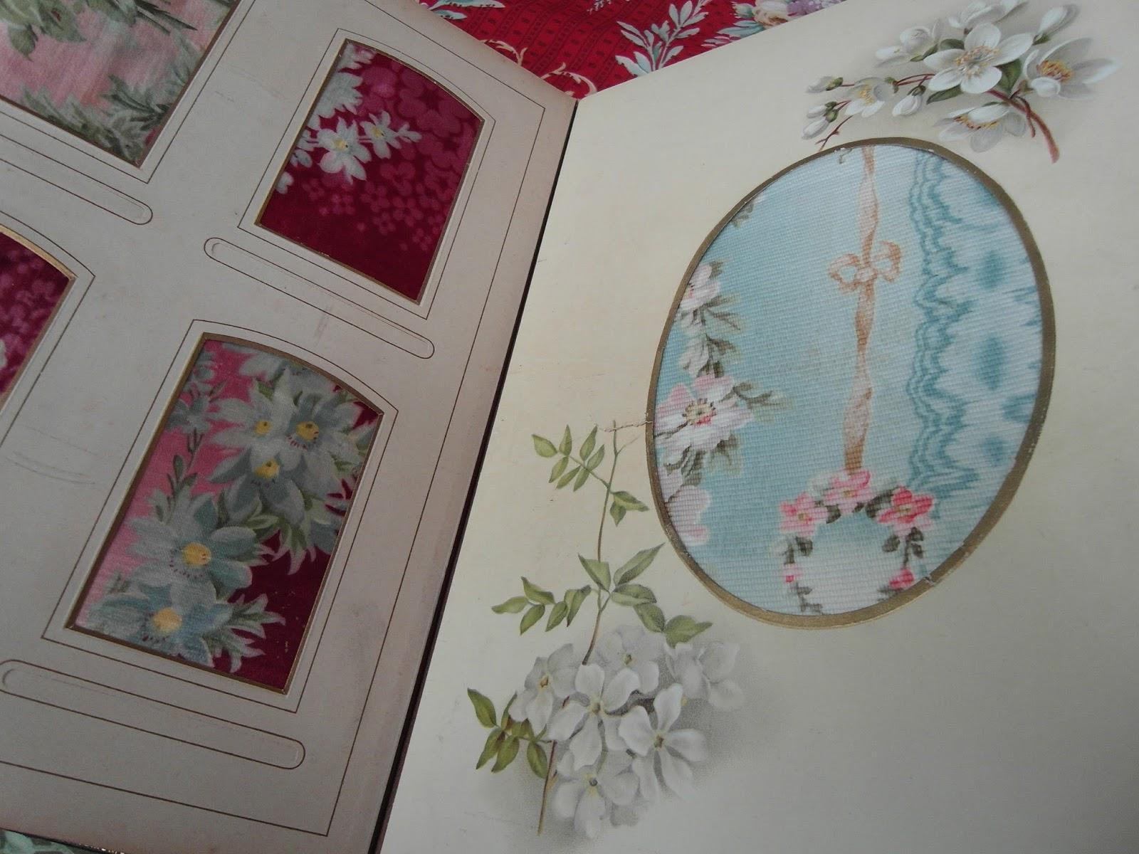 Niki Fretwell: Antique Fabric Sample Book