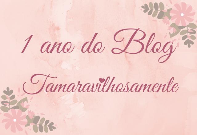 1 ano do blog Tamaravilhosamente