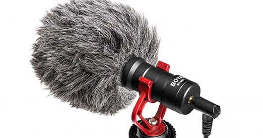 Increase your Audio Quality with BOYA by-MM1 Universal Cardiod Shotgun Microphone