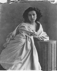 Sarah Bernardt, actriz, por Nadar