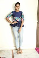 Eesha Looks super cute stunning in Denim Jeans and Top at Darsakudu movie Inerview ~  Exclusive 012.JPG